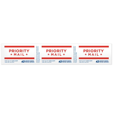 Priority Mail Shipping Label USPS