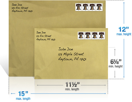 letter envelope size letter size envelopes ebay usps address letters and cards