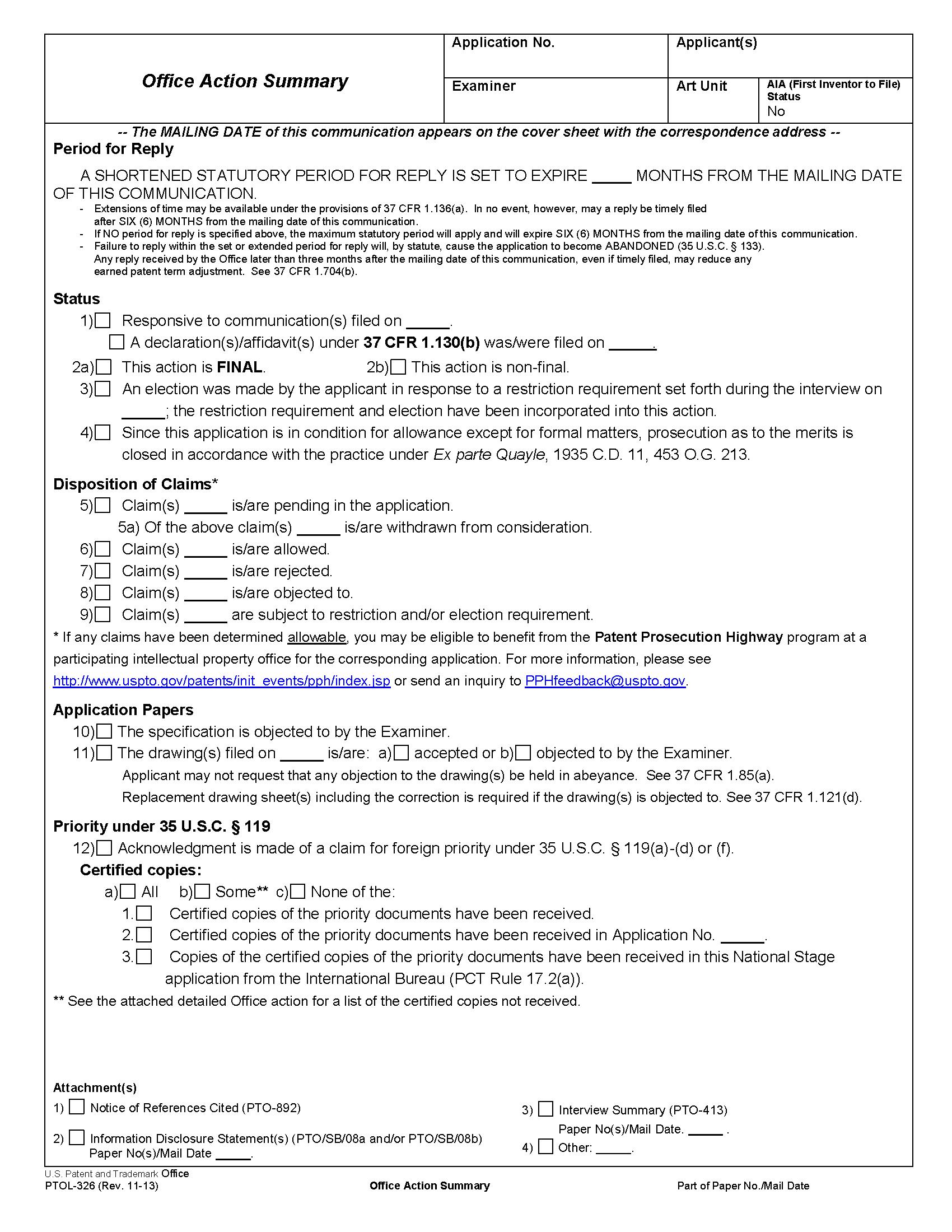 patent examiner resume sample