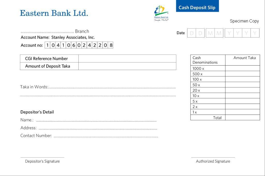 Apply for a US Visa Bank and Payment Options/Pay My Visa Fee - pay in slips