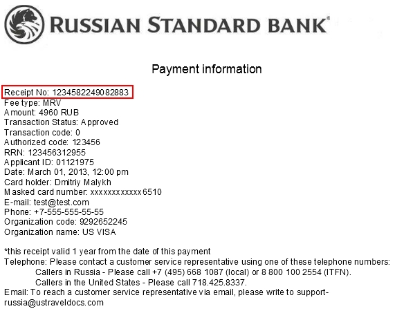 Apply for a US Visa Bank and Payment Options/Pay My Visa Fee