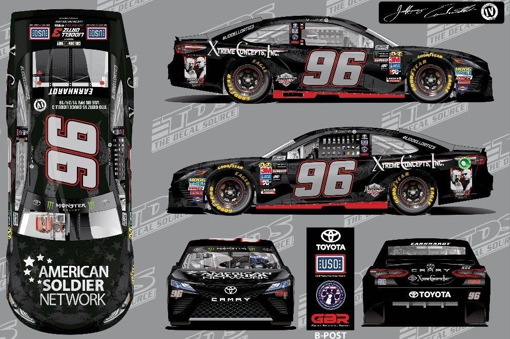 American Soldier Network joins Jeffrey Earnhardt at Las Vegas│US