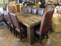 Bradley's Furniture Etc. - Utah Rustic Dining Table Sets
