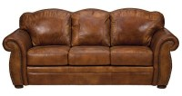 rustic leather sofa | Roselawnlutheran