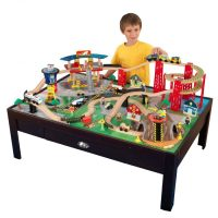Table For Wooden Train Set & BRIO/ELC SPIRAL ELEVATED ...