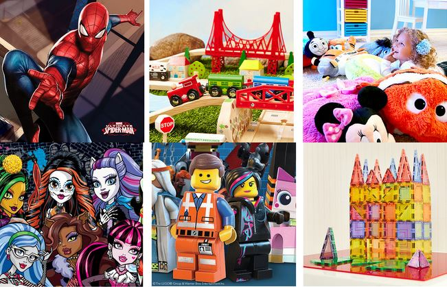 HOT Toy Sales! LEGO Collection Monster High, MagWorld, Pillow Pets - christmas toy sales