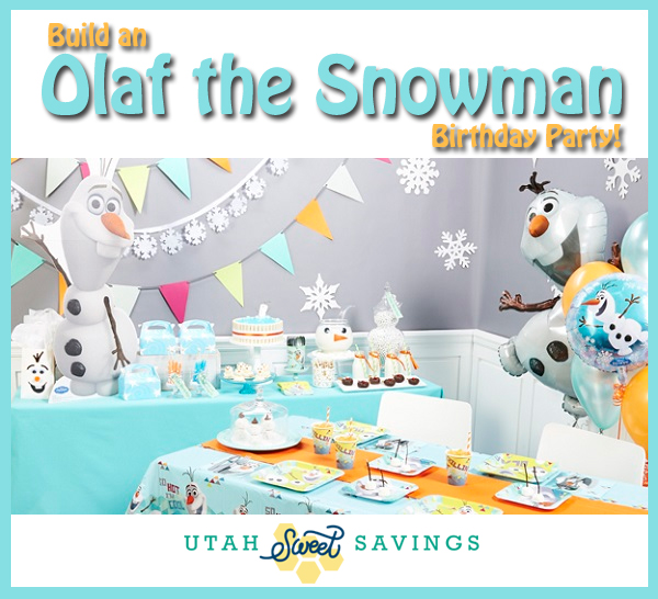 Build an Olaf the Snowman Birthday Party! Plus FREE Printable Invite