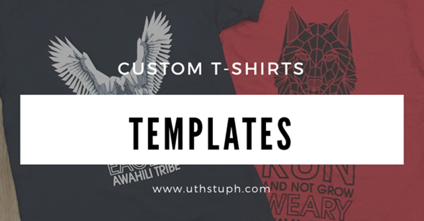 When to Use a Template for Your Custom T-Shirts