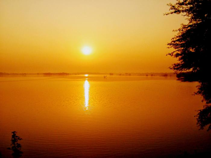 The Sun and The Lake