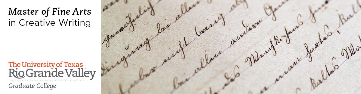 UTRGV Creative Writing (MFA) - creative writting