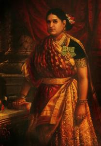 Kamal Raja Hd Wallpaper Maharani Style Drape Utsavpedia