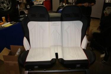 Twisted Stitch RZR Bench Seat