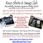 Offroad Shirt and Swag Club Introductory Offer $20 ends April 10th