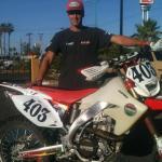 Congratulations Justin Morgan, taking the OA win at the 2013 NORRA Mexican 1000 aboard a Baja Bound Honda 450x