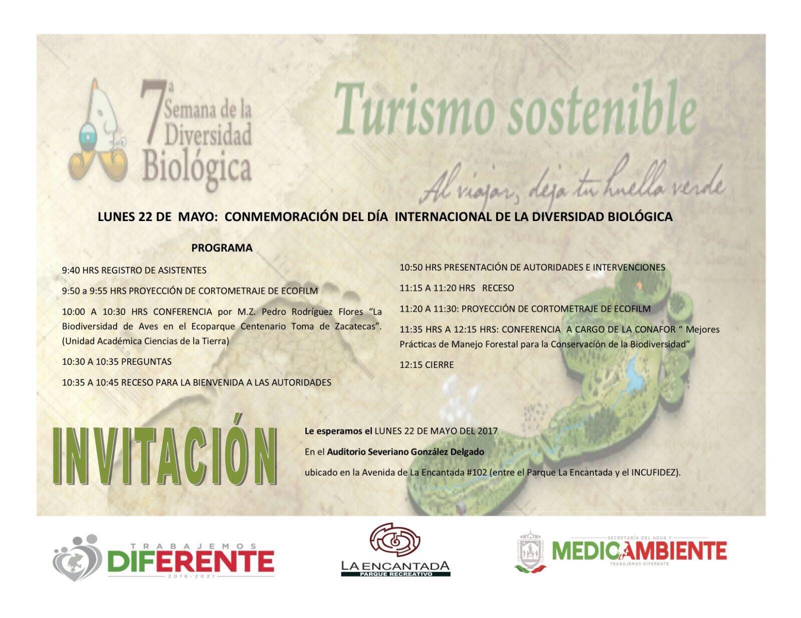 Conmemoración del día Internacional de la Diversidad Biológica