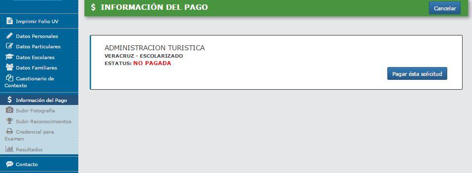 Proceso de Ingreso a la Universidad Veracruzana