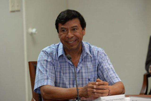 Miguel Ángel Escalona Aguilar, titular de CoSustenta, presentó un informe de la coordinación