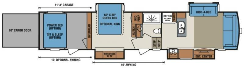 Noble RV Iowa and Minnesota RV Dealer MN \ IA RV Sales - front living room fifth wheel