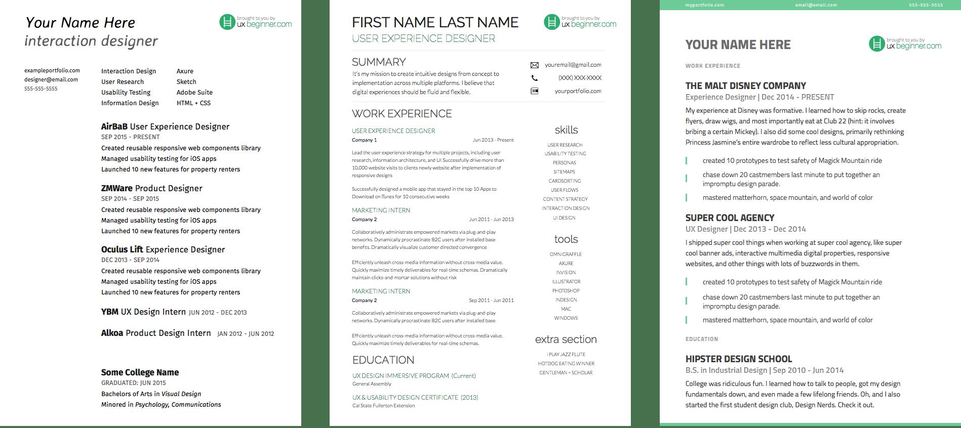 free coaching resume templates