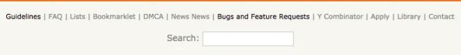 UX-Beginner-Hacker-News-Footer-Search
