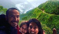 Gezgin aile Bolivya'da 1