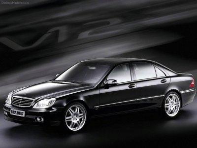 Mercedes Benz S V12 Brabus 1152x864 b1 - Tapety na pulpit - samochody sportowe, luksusowe ...