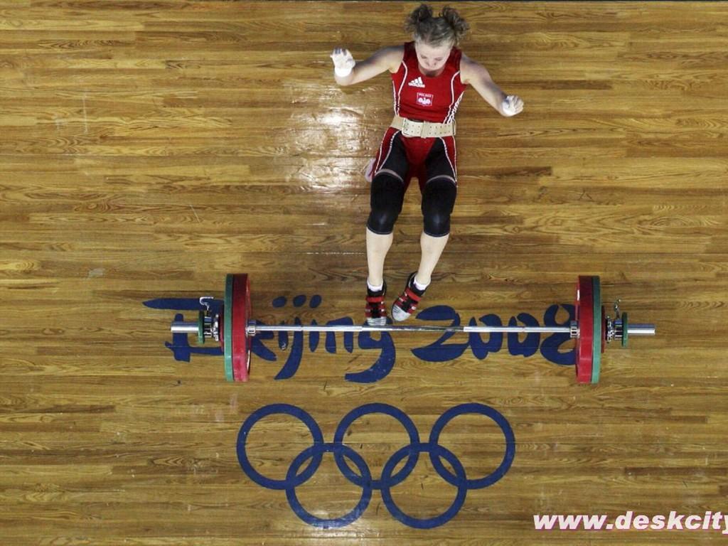 Beijing olympics weightlifting wallpaper 5 1024x768