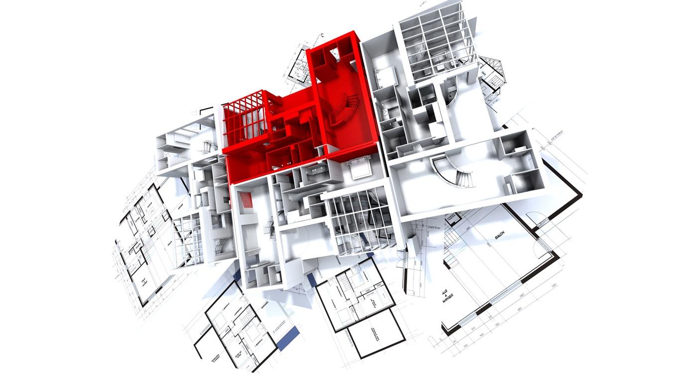Building Construction Wallpaper Hd Fondo De Pantalla 3d Dise 241 O Arquitect 243 Nico 2 18