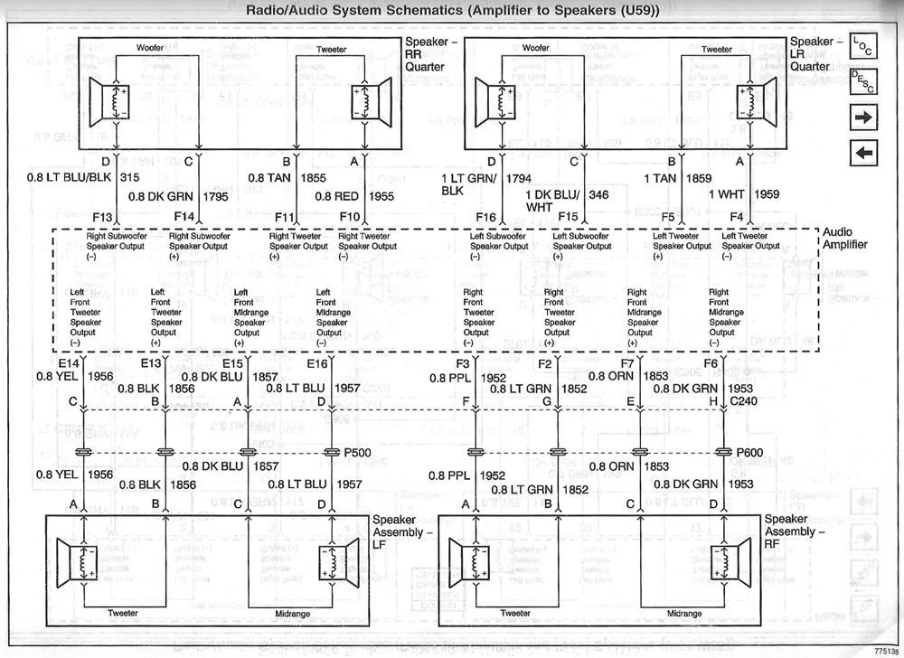 camaro monsoon wiring diagram