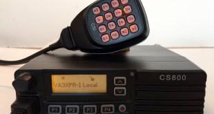 Connect Systems CS800 VA3XPR DMR radio ham