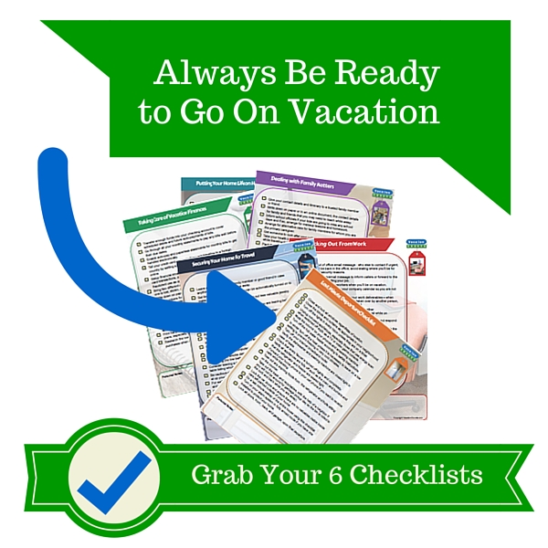 Going On Vacation Checklist - VacationCounts