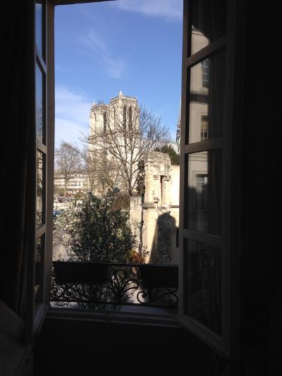 Abelard View of Notre Dame