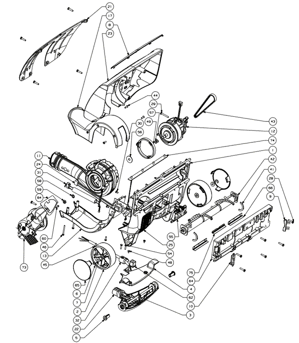oreck xl motor wiring diagram