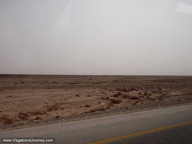 road from amman to wadi musa