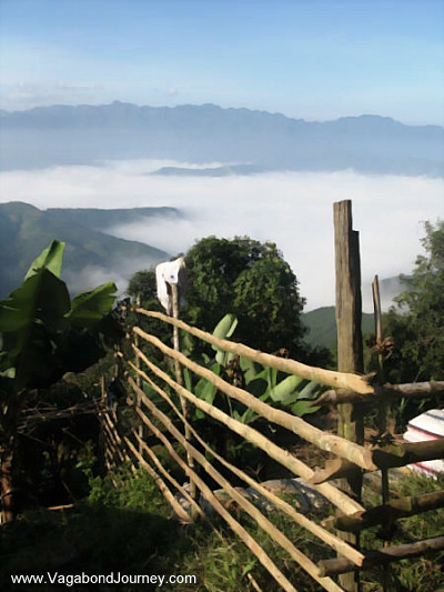 mountains of laos