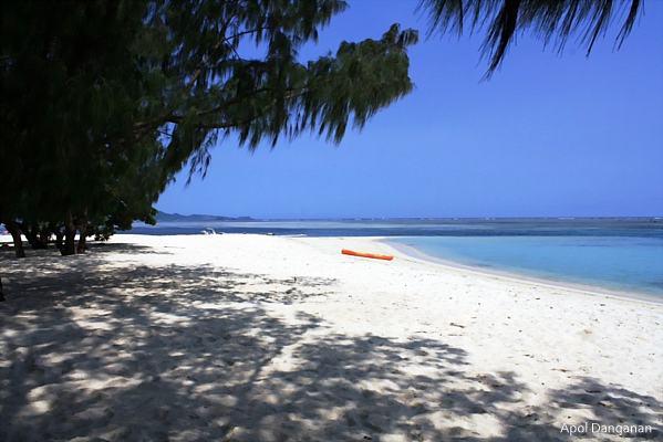 Anguib Beach at Palaui Island