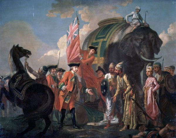 British meeting Indians
