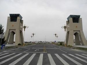 ICBC Khorgos Kazakhstan and China