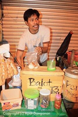 Balut Vendor