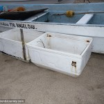 Coolers for fishing