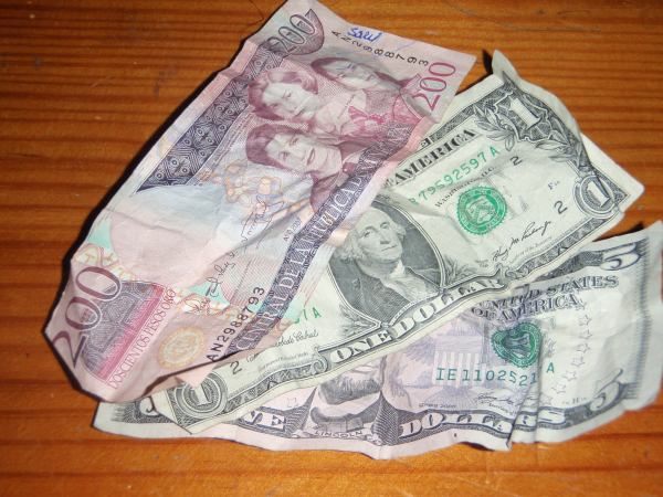 Dominican Republic Pesos and US Dollars