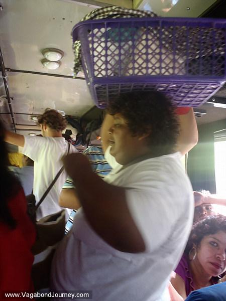 food seller guatemala bus