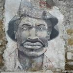 Graffiti Cartagena Man Face
