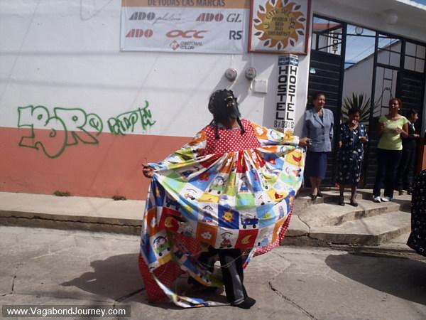 Dancer in La Merced Parade