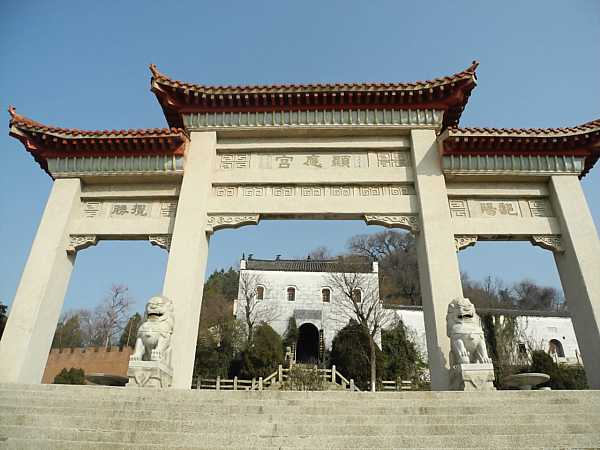 Laoye Temple's gate