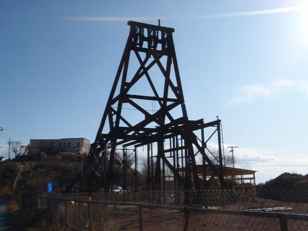 Mining lift in Jerome Arizona