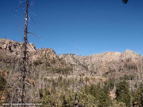 Rim country - the most rugged terrain in Arizona