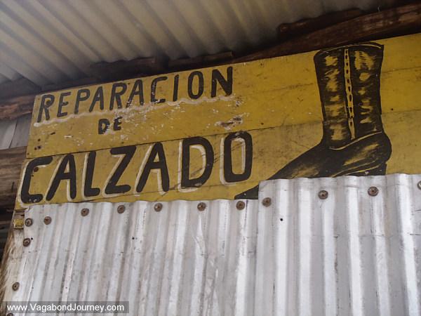 shoe repair shop mexico