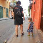 Tourists Walk Getsemani