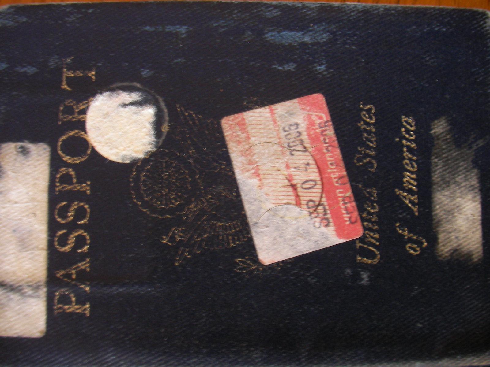 US Passport - Don't lose it